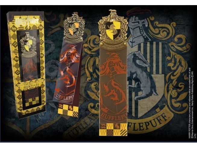 Harry Potter  Segnalibro Con Stemma Tassorosso  25 Cm Noble Collection