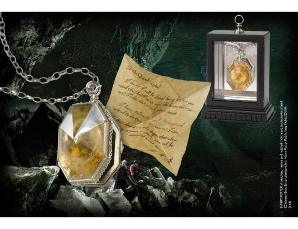 Medaglione Horcrux Salazar Serpeverde Replica Harry Potter Noble Collection
