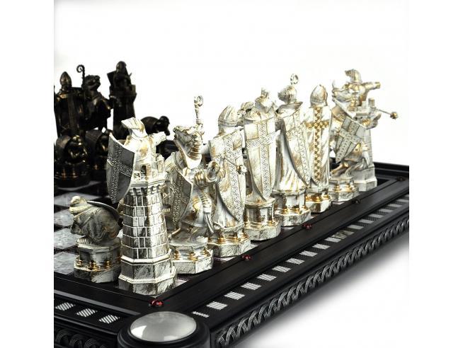 Harry Potter Scacchiera Scacchi L'ultima Prova Replica 50 Cm Noble Collection