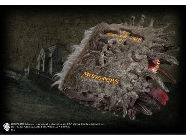 Peluche Libro dei Mostri Harry Potter 35 cm Noble Collection
