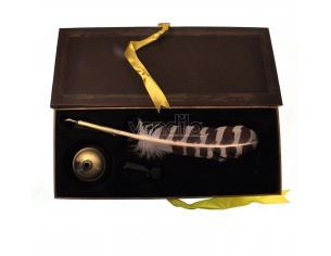 Penna Piuma e Calamaio Hogwarts Replica Harry Potter Noble Collection