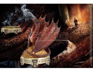 Porta incenso Drago Smaug Lo Hobbit Il Signore degli anelli 25cm Noble Collection
