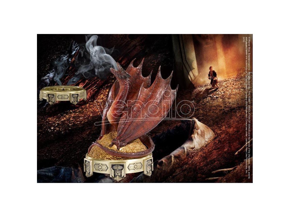 Porta incenso Drago Smaug Lo Hobbit Il Signore degli Anelli 25 cm Noble