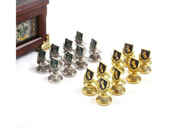 Scacchi e scacchiera casate Hogwarts - Harry Potter Noble Collection