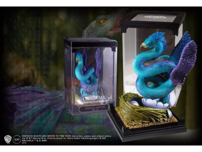 Creature Magiche Statua Occamy Animali Fantastici 18 cm Noble Collection