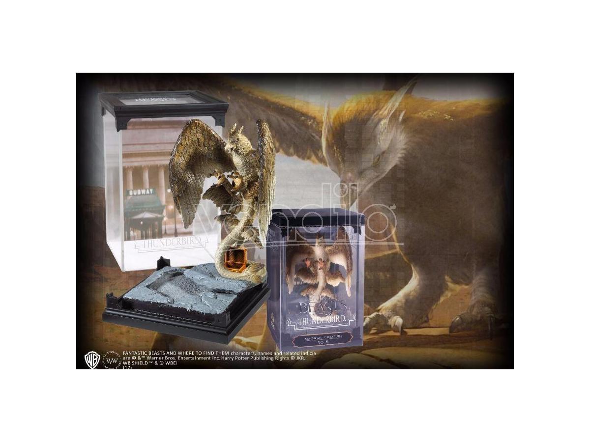 Creature Magiche Statua Thunderbird Animali Fantastici 18 cm Noble Collection