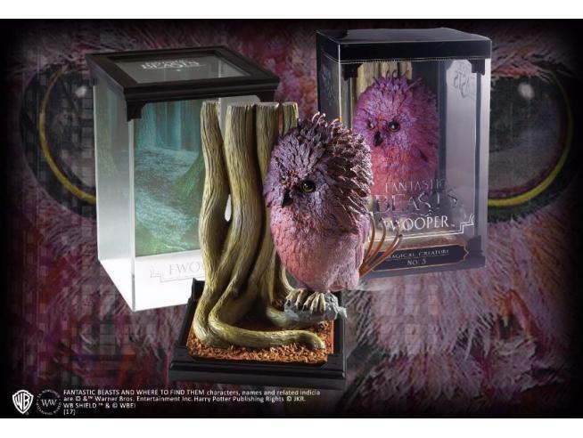 Creature Magiche Statua Fwooper Animali Fantastici 18 cm Noble Collection