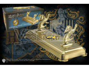 Porta Bacchetta con Stemma Tassorosso Harry Potter Noble Collection