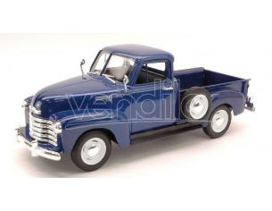 Welly WE2087BL CHEVROLET 3100 PICK UP 1953 BLUE 1:24 Modellino