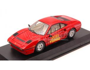 Best Model BT9678 FERRARI 208 GTB TURBO 1980 RED 1:43 Modellino