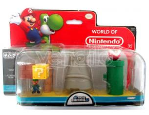 MICRO FIGURE NINTENDO PLAYSET LUIGI FIGURES - ACTION