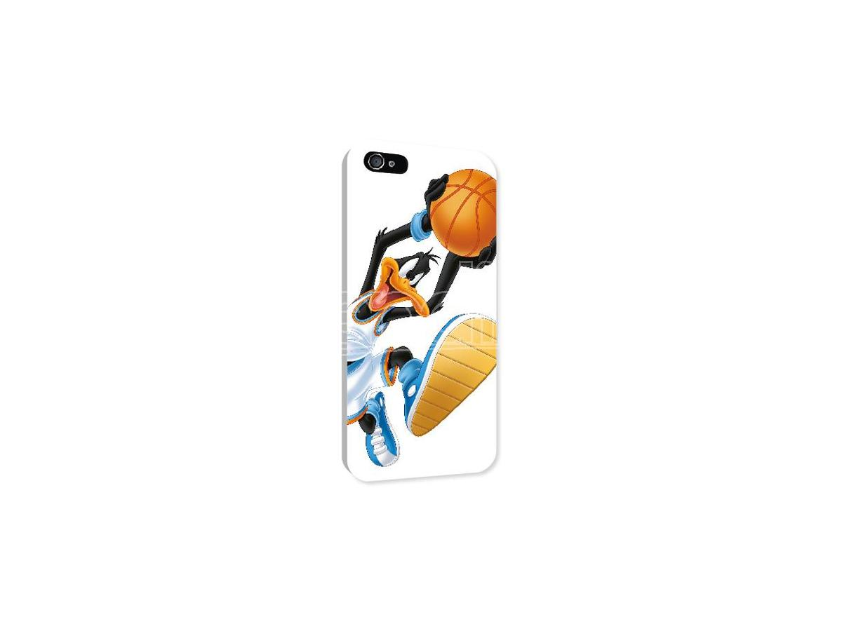 COVER DAFFY DUCK BASKETBALL IPHONE 4/4S CUSTODIE/PROTEZIONE - MOBILE/TABLET