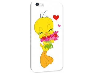 COVER TWEETY CUORI IPHONE 5C CUSTODIE/PROTEZIONE - MOBILE/TABLET