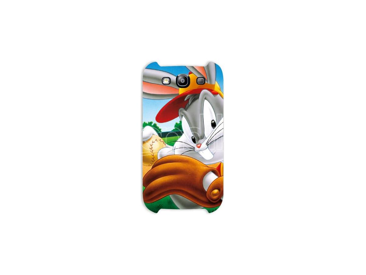 COVER BUGS BUNNY BASEBALL SAMSUNG S3 CUSTODIE/PROTEZIONE - MOBILE/TABLET