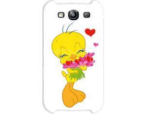 COVER TWEETY CUORI SAMSUNG S3 CUSTODIE/PROTEZIONE - MOBILE/TABLET
