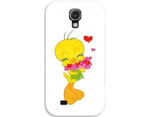 COVER TWEETY CUORI SAMSUNG S4 CUSTODIE/PROTEZIONE - MOBILE/TABLET