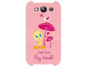 COVER TWEETY BIG WORLD SAMSUNG S3 CUSTODIE/PROTEZIONE - MOBILE/TABLET