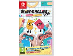 SNIPPERCLIPS PLUS - DIAMOCI UN TAGLIO! ROMPICAPO NINTENDO SWITCH