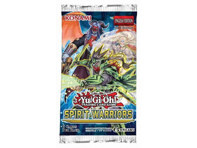 YU-GI-OH! SPIRIT WARRIORS BUSTA CARTE - DA GIOCO/COLLEZIONE
