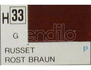 Gunze GU0033 RUSSET GLOSS ml 10 Pz.6 Modellino