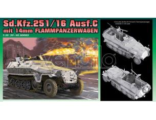 Dragon D6864 SD.KFZ 251/16 C FLAMMPANZERWAGEN KIT 1:35 Modellino