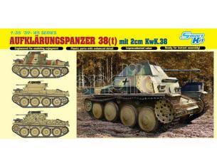 Dragon D6890 AUFKLARUNGSPANZER 38 (t) W/2 cm KWK38 KIT 1:35 Modellino