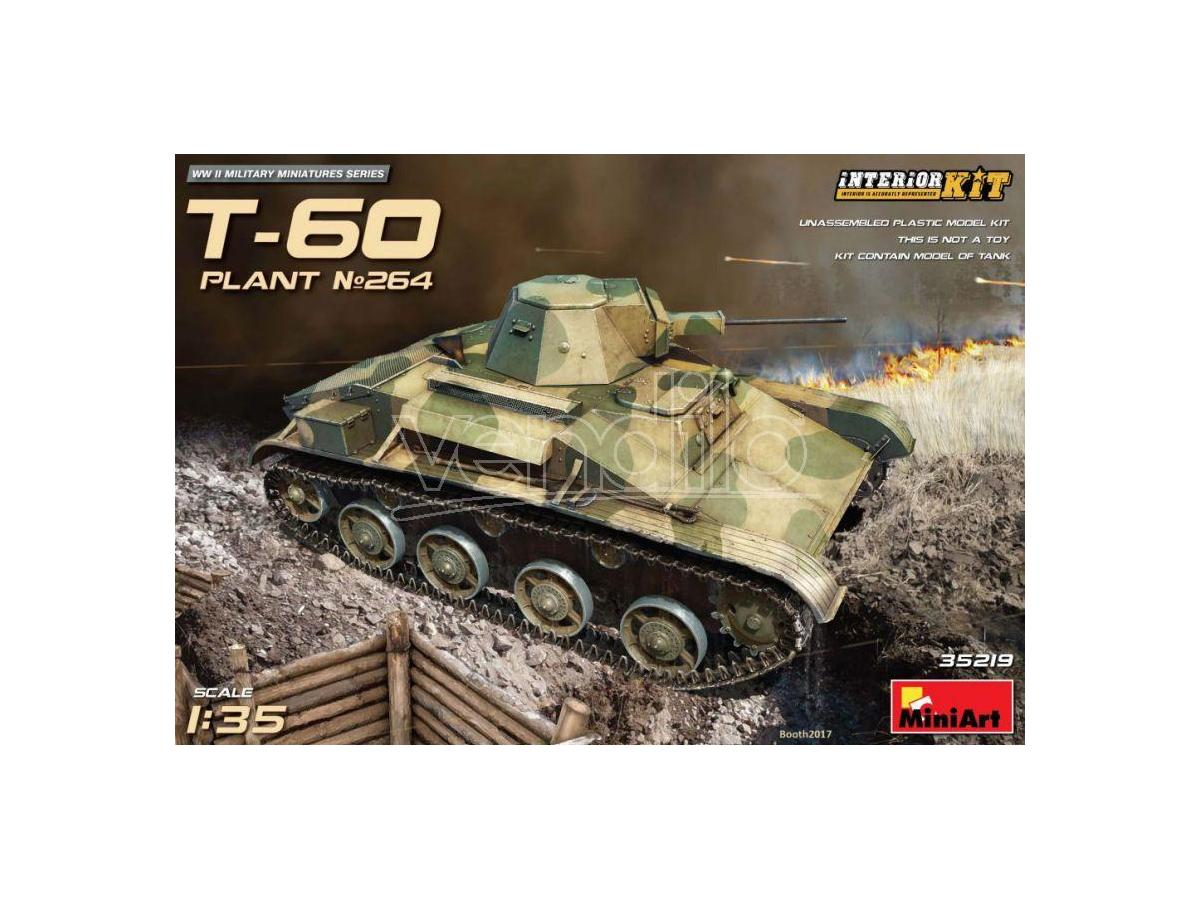 Miniart MIN35219 T-60 (PLANT.No.264 STALINGRAD) KIT 1:35 Modellino