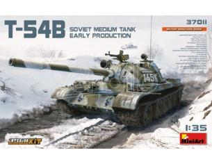 Miniart MIN37011 T-54B SOVIET MEDIUM TANK EARLY PRODUCTION W/INTERIOR KIT 1:35 Modellino