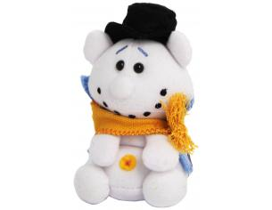TRUDI 52080 - Peluche sweet collection pupazzo di natale 9 cm