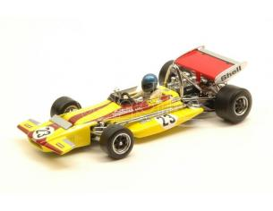 Quartzo QZ27860 MARCH 701 RONNIE PETERSON 1970 N.23 7th MONACO GP 1:43 Modellino