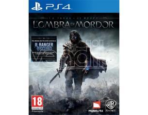 LA TERRA DI MEZZO - L'OMBRA MORDOR GIOCO RUOLO (RPG) PLAYSTATION 4
