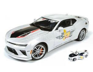 Auto World AW236 CHEVY CAMARO INDY PACE CAR 2017 40th ANNIVERSARY 1:18 Modellino