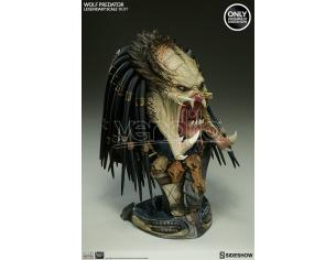 SIDESHOW TOYS WOLF PREDATOR LEGENDARY BUST EXCL ED BUSTO