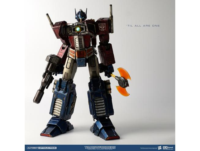 THREE A TOYS TRANSFORMERS GEN ONE OPTIMUS PRIME CL ED ACTION FIGURE