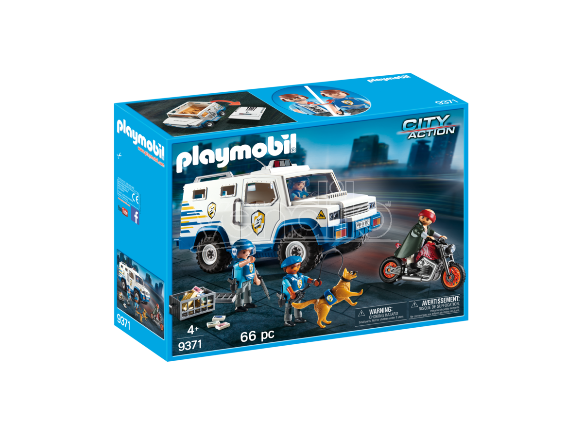 PLAYMOBIL 9371 - FURGONE PORTAVALORI