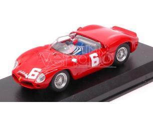 Art Model AM0377 FERRARI 246 DINO SP N.6 WINNER BRANDS HATCH 1962 M.PARKES 1:43 Modellino