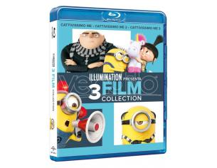 CATTIVISSIMO ME 3 MOVIES COLLECTION ANIMAZIONE - BLU-RAY