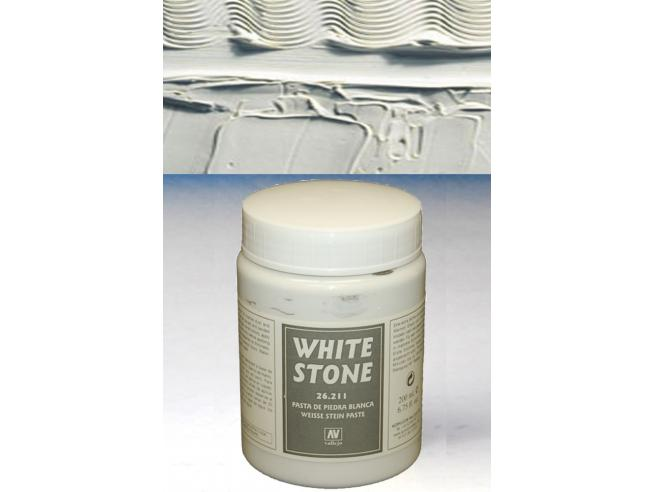 VALLEJO VALLEJO TEXTURE WHITE STONE26211 COLORI