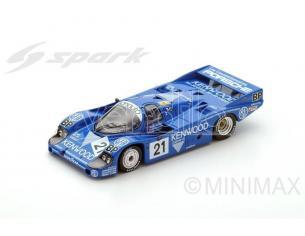 Spark Model S5505 PORSCHE 956 N.21 3rd LM 1983 M.ANDRETTI-M.ANDRETTI-P.ALLIOT 1:43 Modellino
