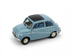 Brumm BM0365-04 FIAT NUOVA 500 TETTO APRIBILE CHIUSA 1959 CELESTE 1:43 UPD Modellino