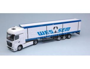 HOLLAND OTO UH9008 MERCEDES ACTROS MP4 WESSEM 1:50 Modellino