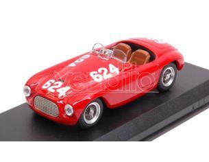 Art Model AM0008-2 FERRARI 166 MM N.624 WINNER MM 1949 C.BIONDETTI-E.SALANI 1:43 Modellino