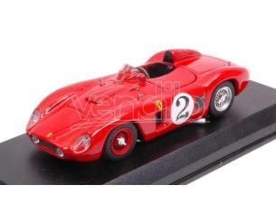 Art Model AM0379 FERRARI 500 TR N.2 2nd NASSAU TROPHY RACE 1956 MASTEN GREGORY 1:43 Modellino