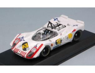 Best Model BT9686 PORSCHE 908/02 N.12 2nd 1000 KM B.AIRES 1970 A.SOLER ROIG-J.RINDT 1:43 Modellino