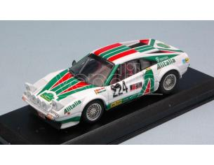 Best Model BT9687 FERRARI 308 GTB N.224 LEGEND BOUCLES DE SPA 2013 F.JENNEN-E.SMEETS 1:43 Modellino