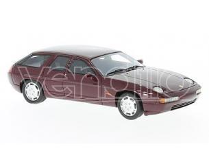 Neo Scale Models NEO47130 PORSCHE 928 H50 CONCEPT 1987 DARK MET.RED 1:43 Modellino