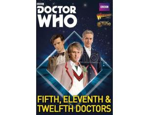 WARLORD GAMES DOCTOR WHO 5th,11th AND 12th DOCTORS GIOCO DA TAVOLO