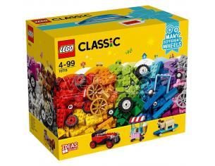 LEGO CLASSIC 10715 MATTONCINI SU RUOTE CLASSIC - COSTRUZIONI