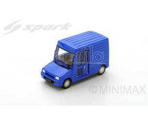 Spark Model SJ043 DAIHATSU MIRA WALK THROUGH VAN 1992 BLUE 1:43 Modellino