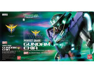 Bandai Model Kit Mobile Suit Gundam Exia Lighting Model Perfect Grade PG 1/60